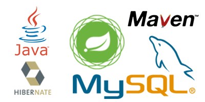 Java Spring, Maven, Hibernate and MySQL Integration Template AnyChart | AnyChart