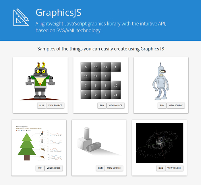 GraphicsJS - free open-source JS graphics library for easily drawing anything (HTML5)