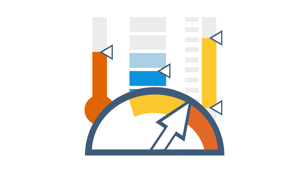 Chart types for single-value data visualization (indicators)