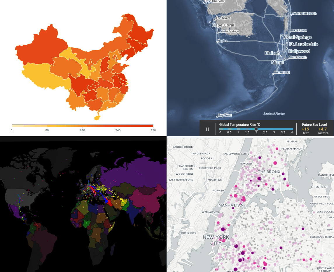 Interactive Maps Edition - Data Visualization Weekly