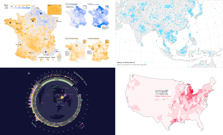 Data Is Beautiful: New Interesting Visualizations in DataViz Weekly