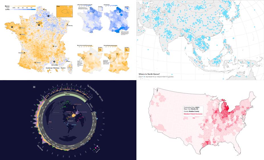 Data Is Beautiful: New Interesting Visualizations in DataViz Weekly