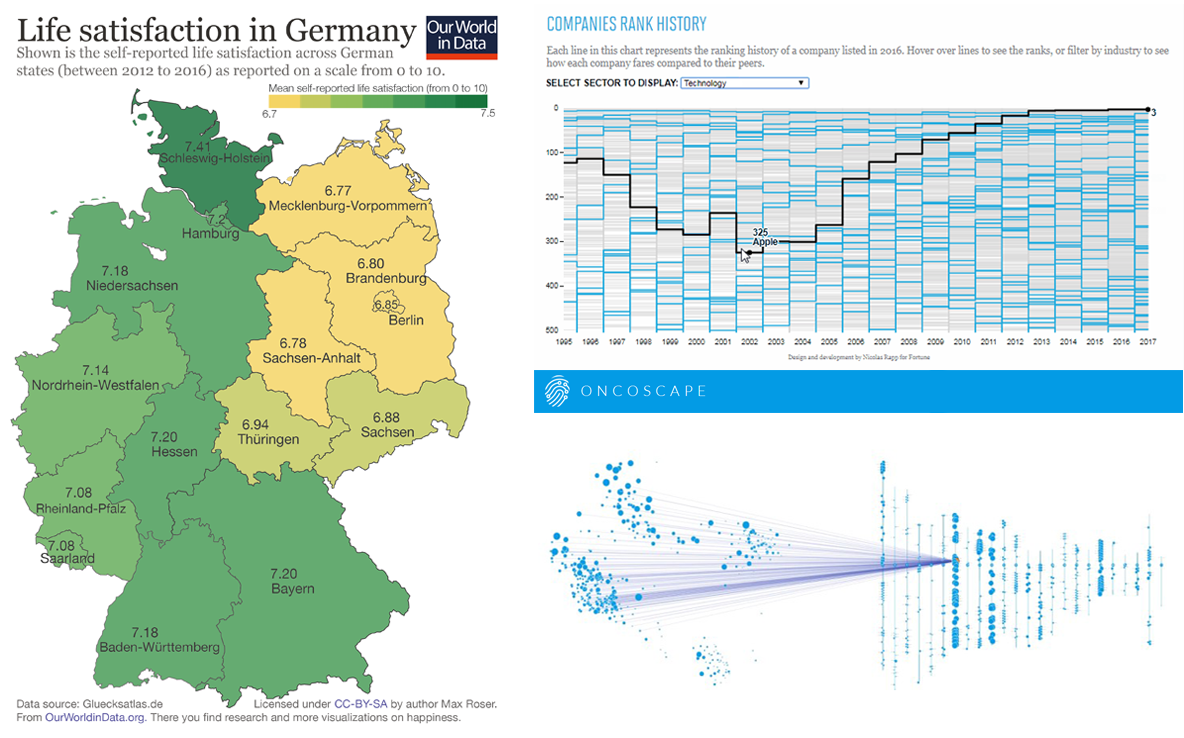 DataViz Weekly: Visualizing Information, The One That Really Matters