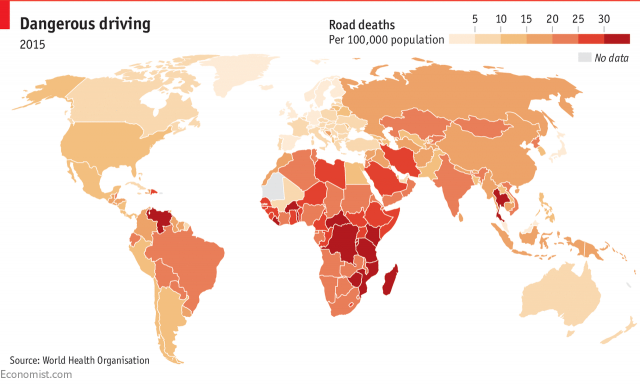 Road Deaths in Developing Countries