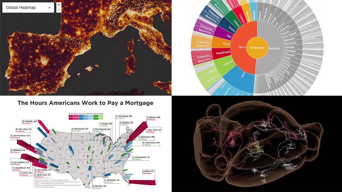 New Cool Visualization Examples Worth Seeing – DataViz Weekly