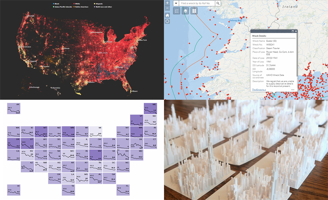 Visualizing Data About Diversity, Shipwrecks, Harassments, and NBA Shots — DataViz Weekly