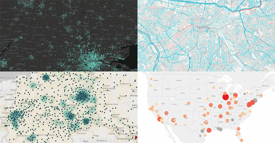 Map Visualizations About US Violence, UK Real Estate, Brazil Streets, and Berliners — DataViz Weekly