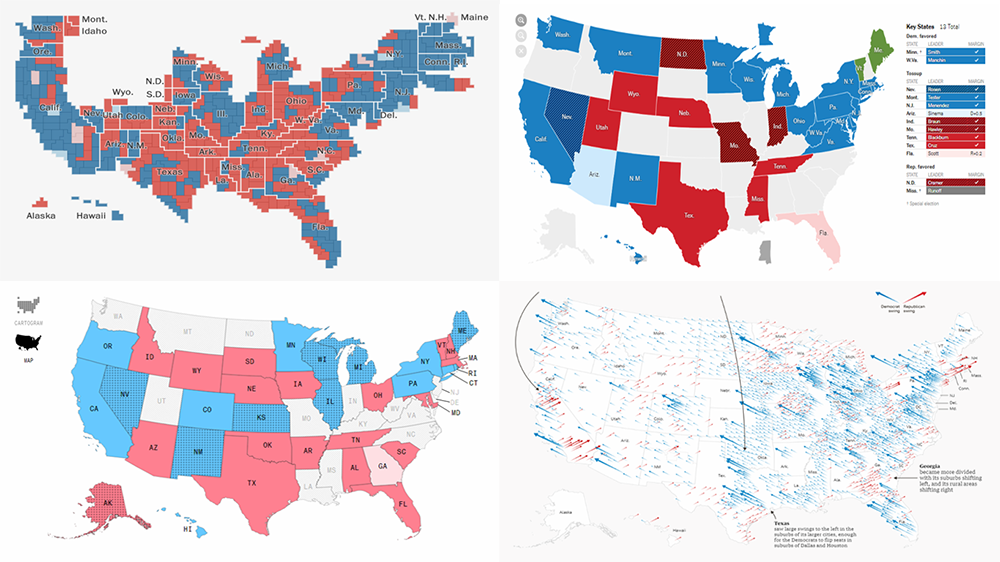 2018 Midterm Election Results in Data Visualization — DataViz Weekly