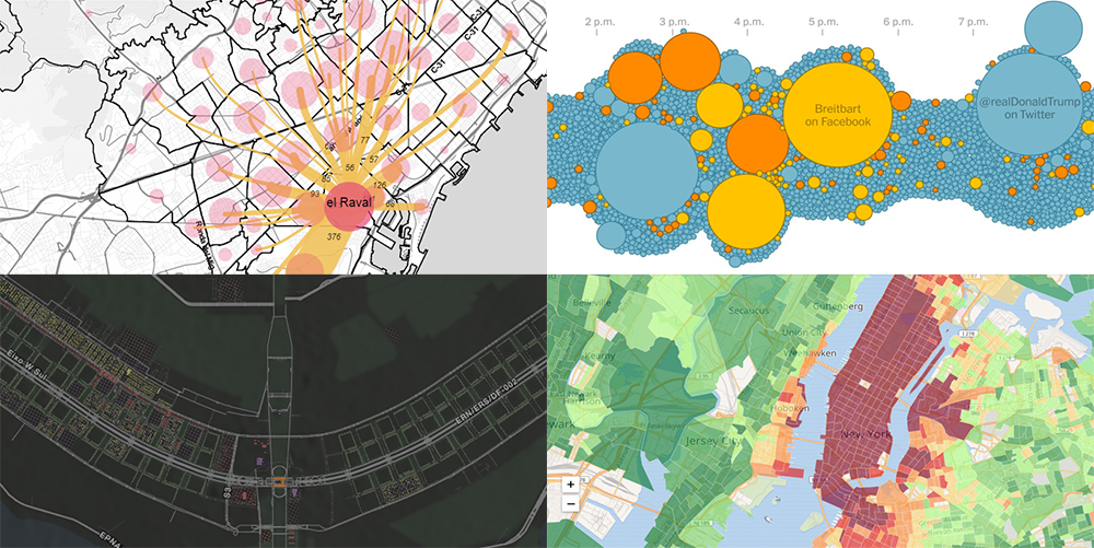 Data Analysis Through Visualization in New Examples: Citywide Migration, Cost of Living, #JobsNotMobs, Urban Evolution — DataViz Weekly