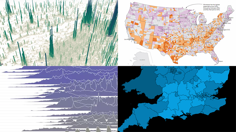 New Visualizations of Data on Subreddits, Voters, Population, and Health — DataViz Weekly