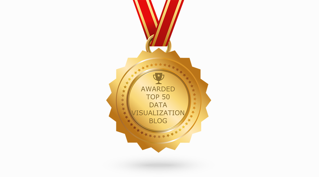 Feedspot named AnyChart Blog among the 50 best data visualization blogs to follow in 2019