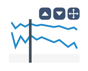 UI controls to swap and maximize JS stock charts delivered in AnyStock 8.7.0 by AnyChart