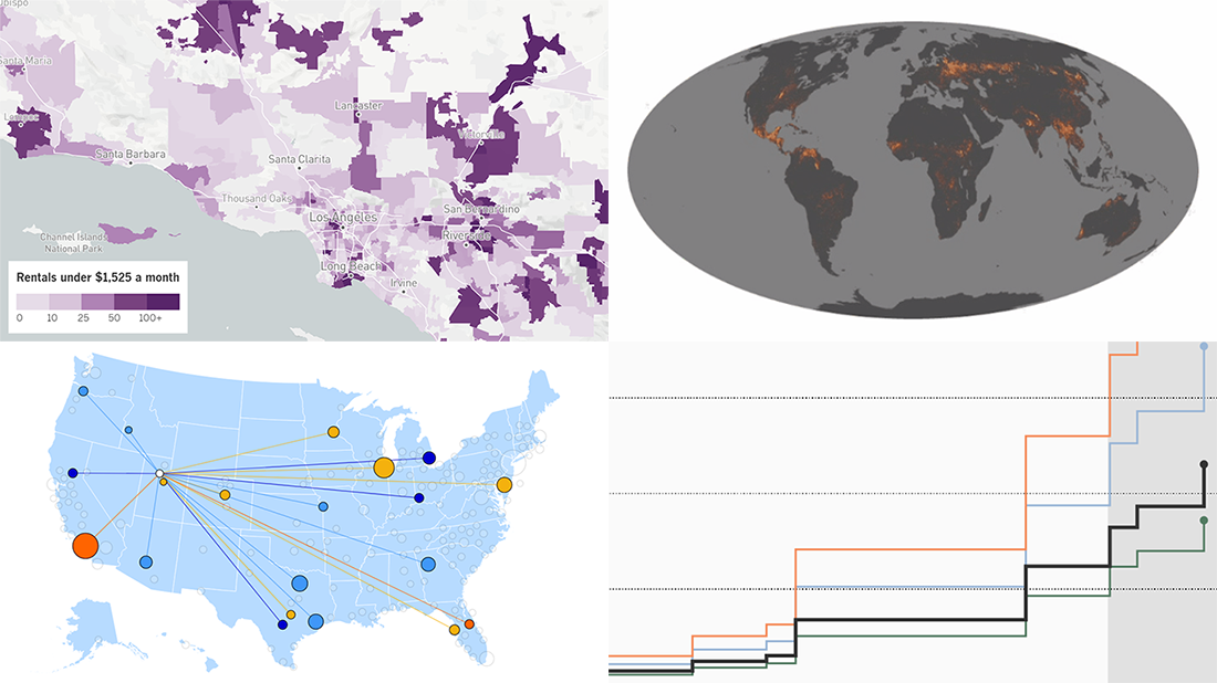 Visualizing Costs and Fires Data in Charts and Maps — DataViz Weekly