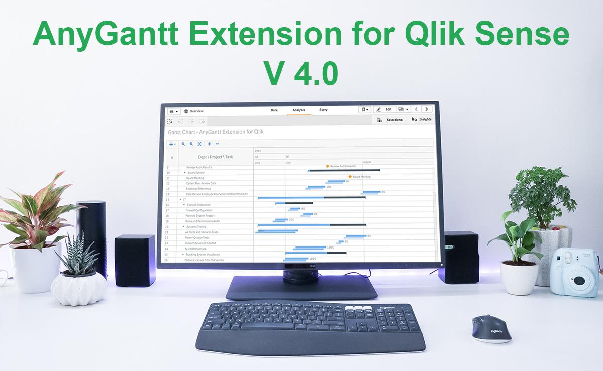 Qlik Sense甘特图扩展AnyGantt新功能详解|附下载