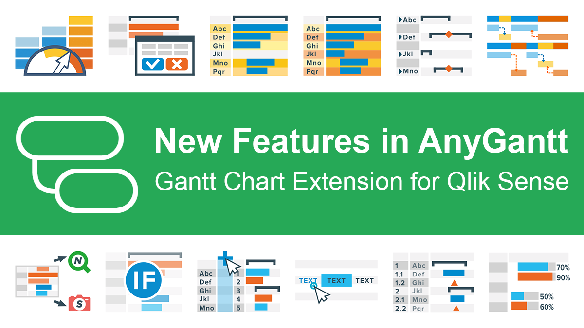 Try Just-Updated AnyGantt Extension for Qlik Sense with New Stunning Features