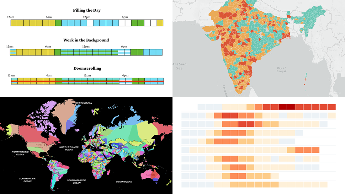 Curating New Interesting Data Visualizations Worth Checking Out | DataViz Weekly