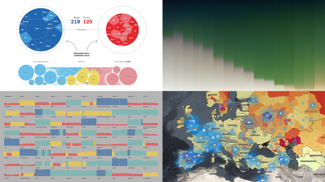 Awesome Fresh Data Visualization Projects for Inspiration | DataViz Weekly