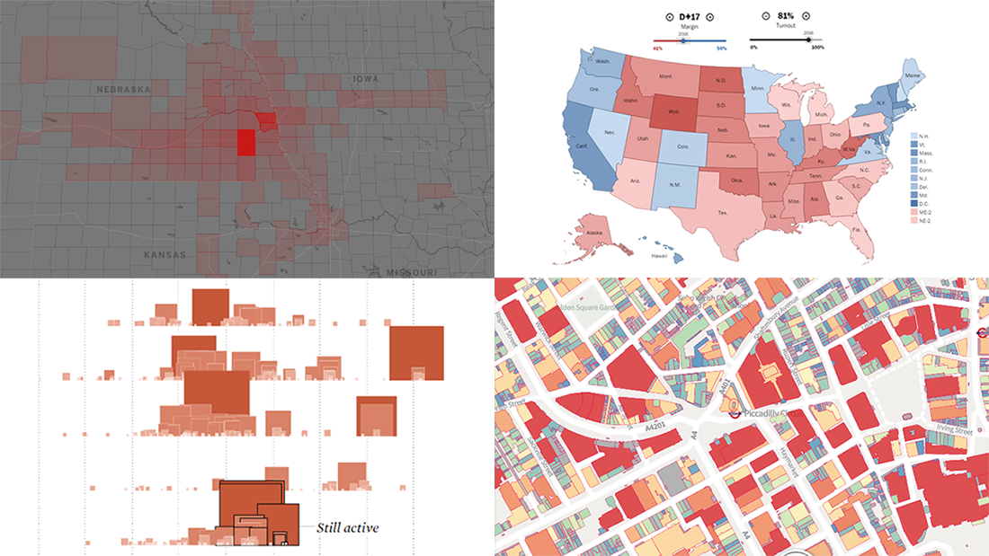 New Maps and Charts Showing the Power of Data Visualization | DataViz Weekly