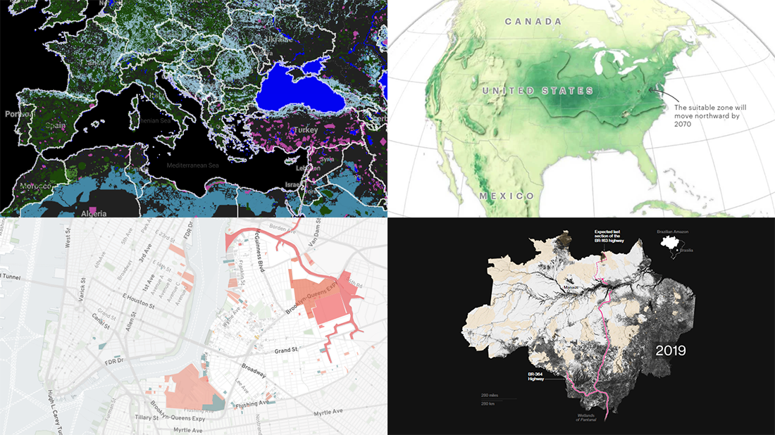 New Environmental Maps Worth Checking Out | DataViz Weekly