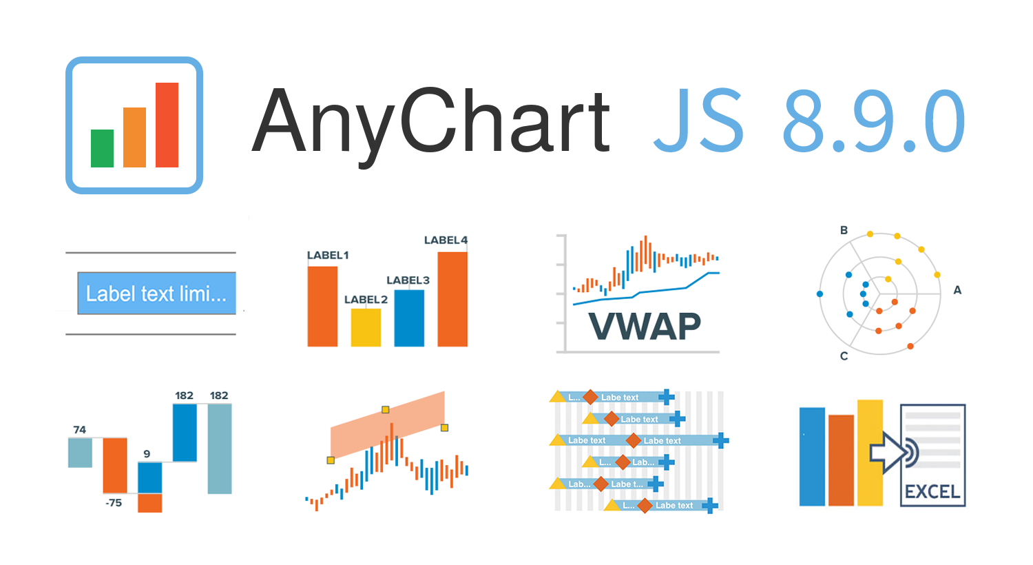 New JavaScript Chart Features in AnyChart 8.9.0