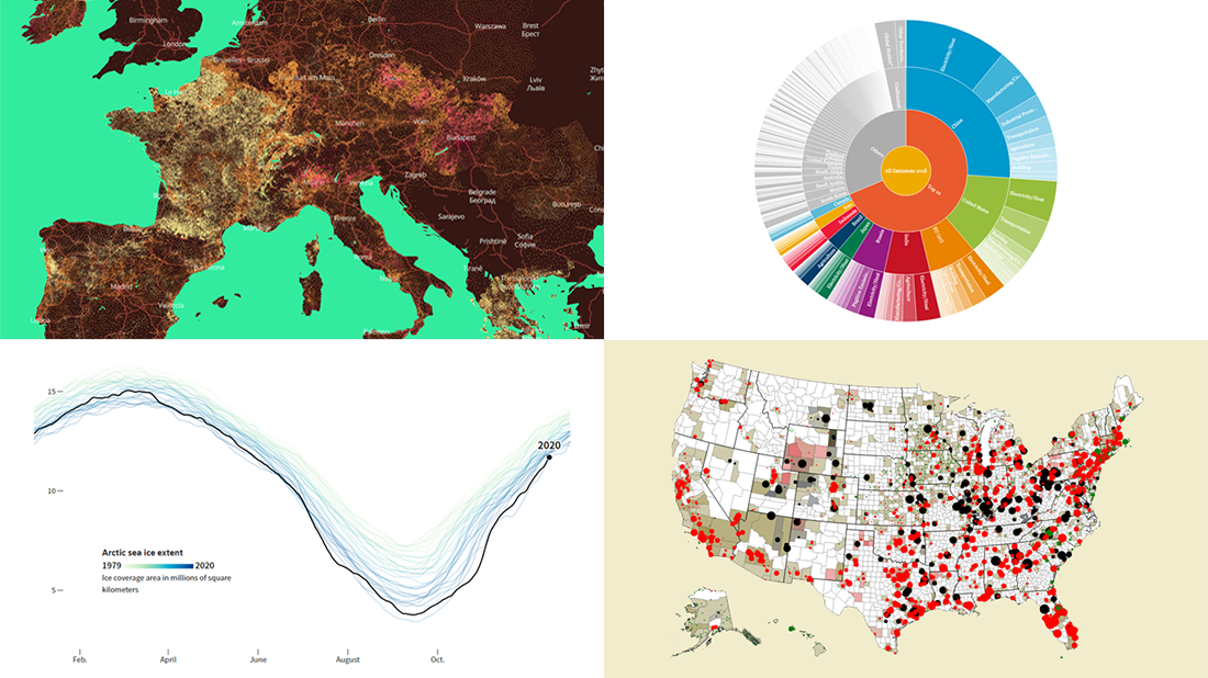 New Compelling Data Visualizations on Climate Change — DataViz Weekly