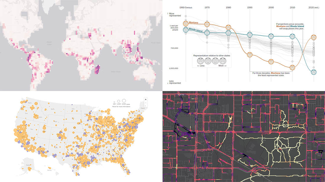 New Impressive Data Visualization Projects | DataViz Weekly