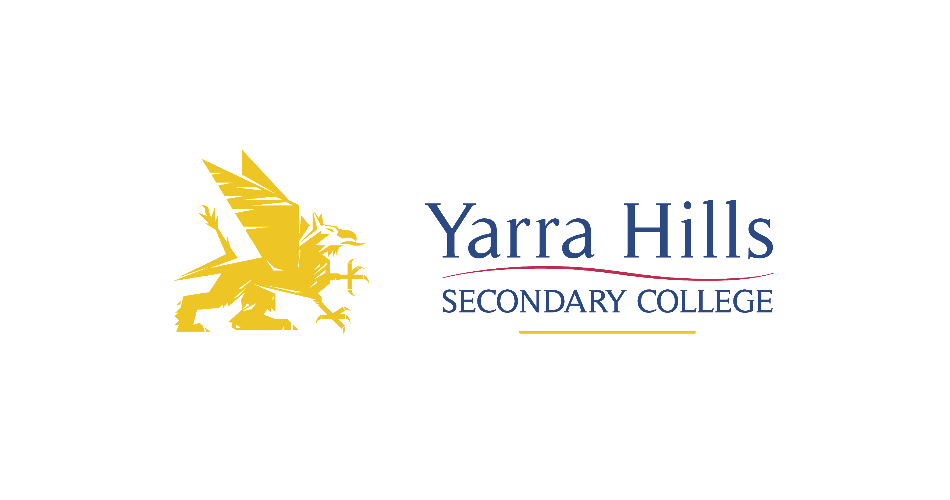Official logo of Yarra Hills Secondary College using AnyChart to visualize student progress on Digital Data Wall