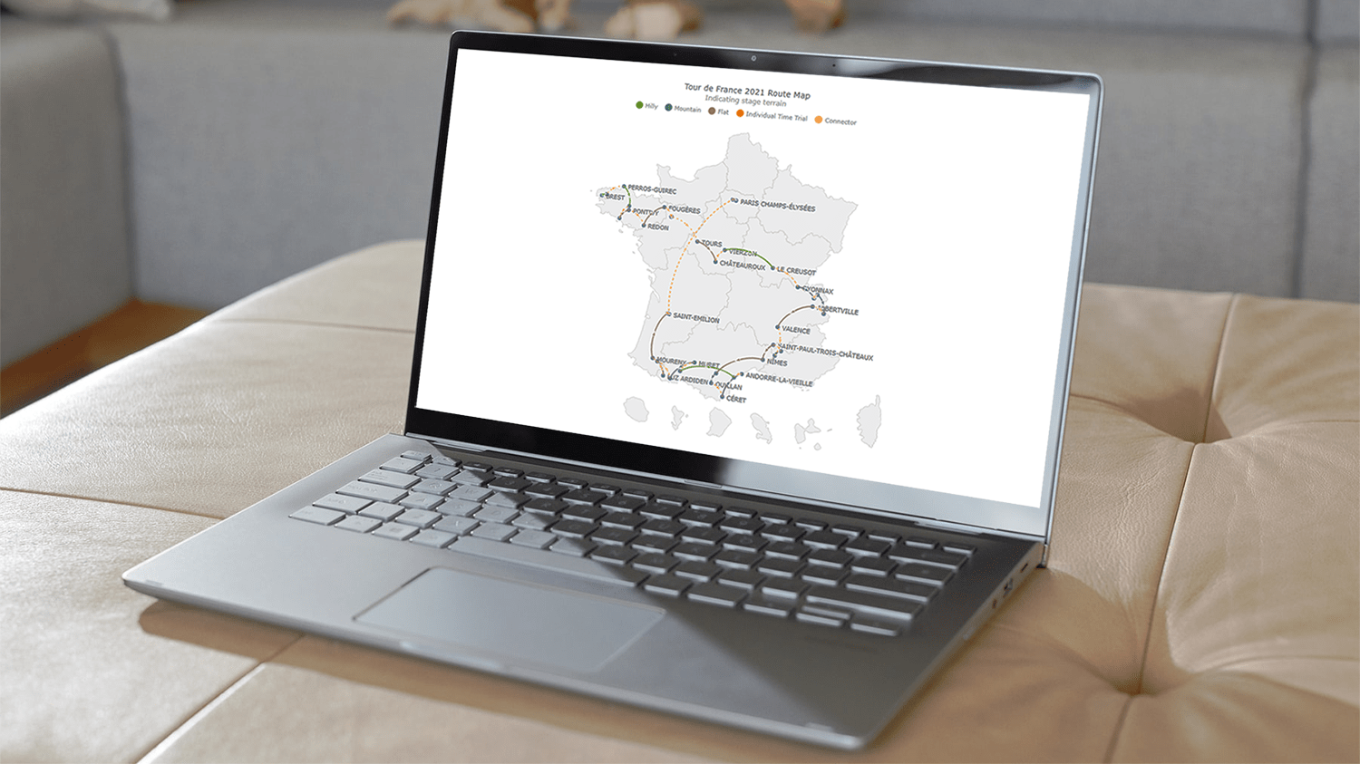 Building an Interactive Connector Map for a Web Page or App with JavaScript HTML5